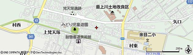 山形県東田川郡庄内町余目梵天塚66周辺の地図