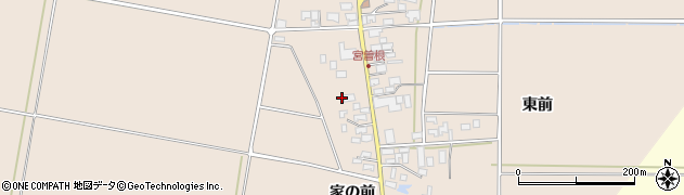 山形県東田川郡庄内町宮曽根宮の前21周辺の地図