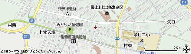 山形県東田川郡庄内町余目梵天塚59周辺の地図