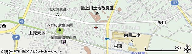 山形県東田川郡庄内町余目梵天塚9周辺の地図