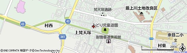 山形県東田川郡庄内町余目梵天塚138周辺の地図