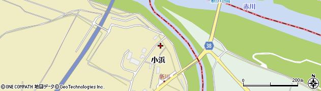 山形県酒田市浜中小浜79周辺の地図