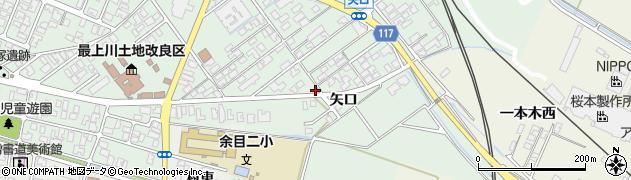 山形県東田川郡庄内町余目矢口84周辺の地図