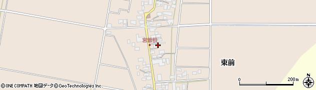 山形県東田川郡庄内町宮曽根宮の前37周辺の地図