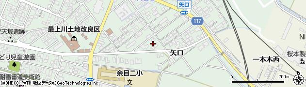山形県東田川郡庄内町余目矢口85周辺の地図