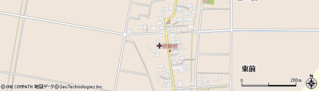 山形県東田川郡庄内町宮曽根宮の前36周辺の地図