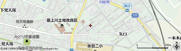 山形県東田川郡庄内町余目矢口102周辺の地図