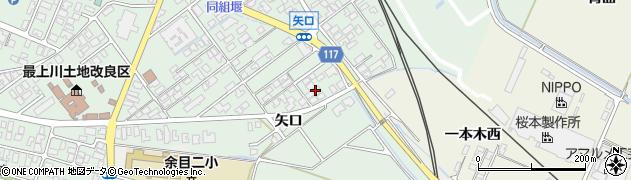 山形県東田川郡庄内町余目矢口67周辺の地図