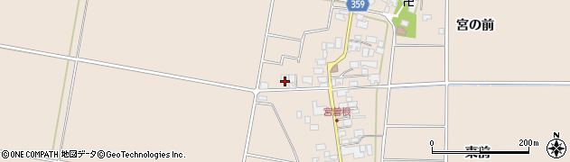 山形県東田川郡庄内町宮曽根宮の前47周辺の地図