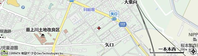 山形県東田川郡庄内町余目矢口79周辺の地図