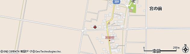 山形県東田川郡庄内町宮曽根宮の前46周辺の地図