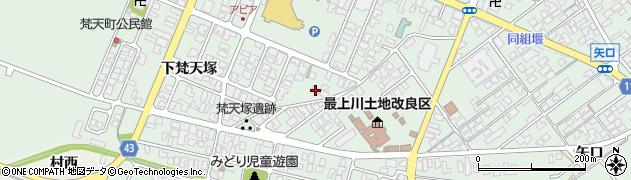 山形県東田川郡庄内町余目上朝丸86周辺の地図