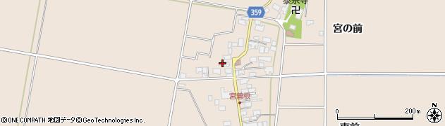 山形県東田川郡庄内町宮曽根宮の前50周辺の地図