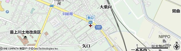 山形県東田川郡庄内町余目矢口70周辺の地図