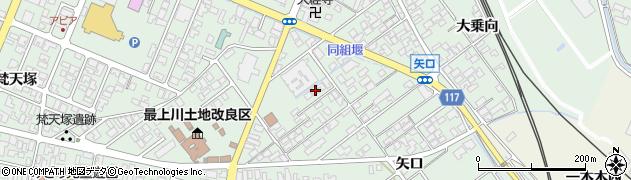 山形県東田川郡庄内町余目矢口91周辺の地図