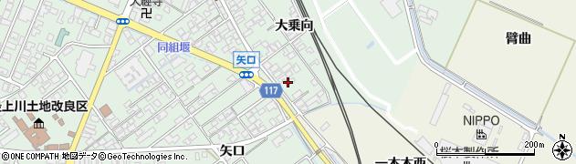 山形県東田川郡庄内町余目大乗向73周辺の地図