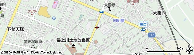 山形県東田川郡庄内町余目矢口99周辺の地図