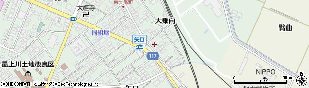 山形県東田川郡庄内町余目大乗向70周辺の地図