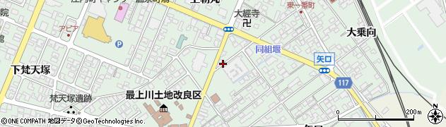 山形県東田川郡庄内町余目矢口96周辺の地図
