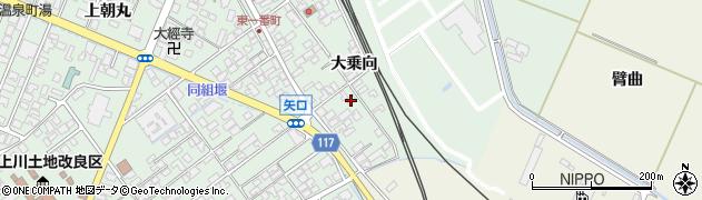 山形県東田川郡庄内町余目大乗向69周辺の地図