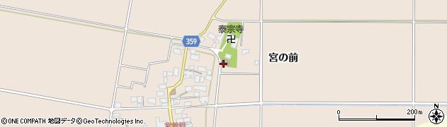 山形県東田川郡庄内町宮曽根東前周辺の地図