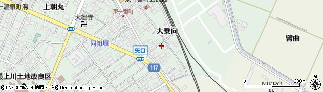 山形県東田川郡庄内町余目大乗向68周辺の地図