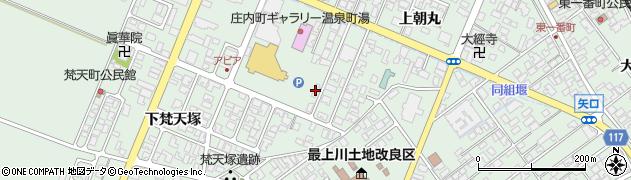 山形県東田川郡庄内町余目土堤下53周辺の地図