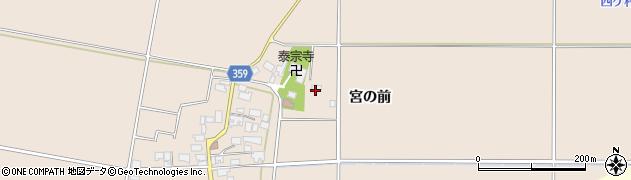 山形県東田川郡庄内町宮曽根宮の前125周辺の地図