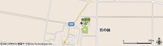 山形県東田川郡庄内町宮曽根宮の前80周辺の地図