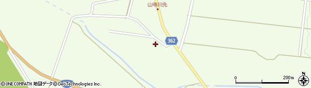 山形県酒田市山寺小出池ノ尻156周辺の地図