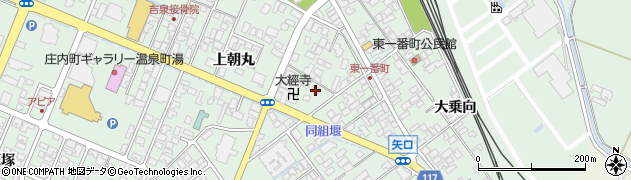 山形県東田川郡庄内町余目上朝丸31周辺の地図