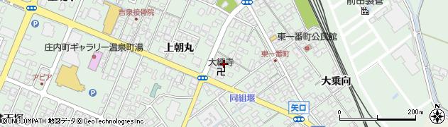山形県東田川郡庄内町余目上朝丸60周辺の地図