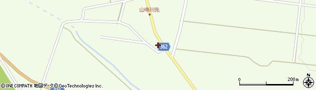 山形県酒田市山寺欠之上74周辺の地図