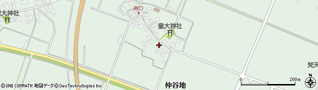 山形県東田川郡庄内町余目南口15周辺の地図