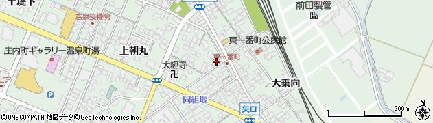 山形県東田川郡庄内町余目上朝丸35周辺の地図