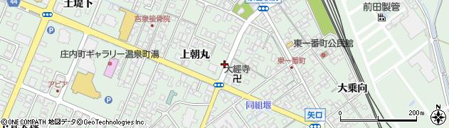 山形県東田川郡庄内町余目上朝丸72周辺の地図