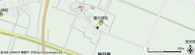 山形県東田川郡庄内町余目南口3周辺の地図