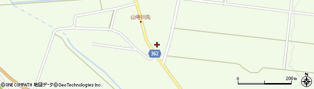山形県酒田市山寺欠之上73周辺の地図