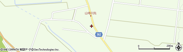 山形県酒田市山寺宅地8周辺の地図