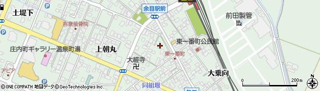 山形県東田川郡庄内町余目上朝丸38周辺の地図