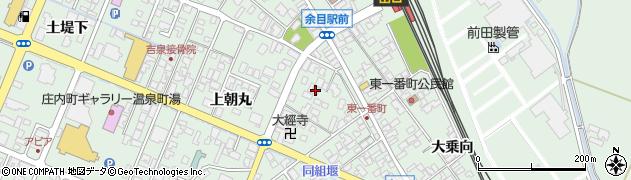 山形県東田川郡庄内町余目上朝丸55周辺の地図