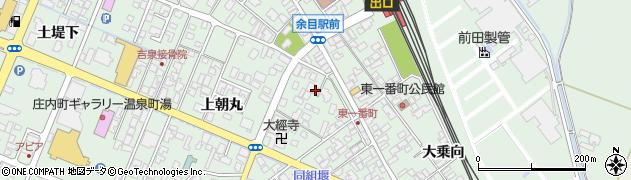 山形県東田川郡庄内町余目上朝丸56周辺の地図
