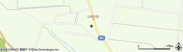 山形県酒田市山寺宅地30周辺の地図