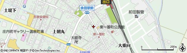 山形県東田川郡庄内町余目沢田263周辺の地図