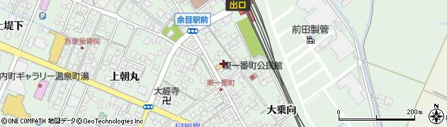 山形県東田川郡庄内町余目沢田124周辺の地図