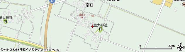 山形県東田川郡庄内町余目南口19周辺の地図