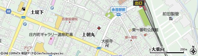 山形県東田川郡庄内町余目上朝丸106周辺の地図