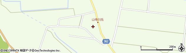 山形県酒田市山寺宅地35周辺の地図
