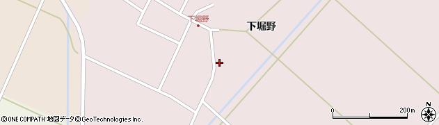 山形県東田川郡庄内町堀野下堀野16周辺の地図