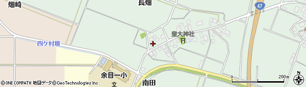 山形県東田川郡庄内町余目長畑33周辺の地図
